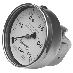 Bellows Type Differential Pressure Gauge