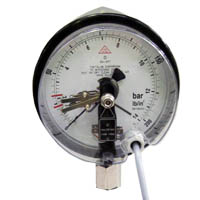 Pressure Gauges with Electrical Contacts