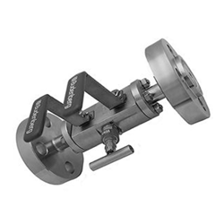Three piece modular construction DBB, SBB or SB valve (Flanged outlet)