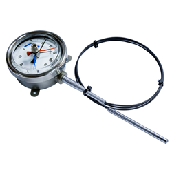Fridge Gauge - Gas Expansion Thermometer in Steel