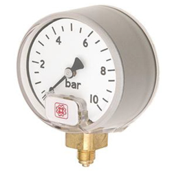 Small Dial High Pressure Safety Service Gauge