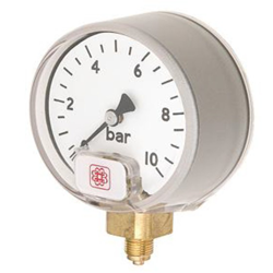 Small Dial Low Pressure Industrial Service Gauge