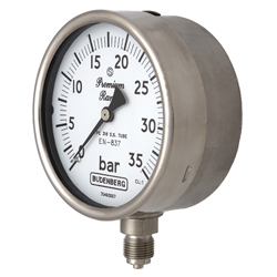 Bourdon Tube Pressure Gauge, Safety Pattern Construction